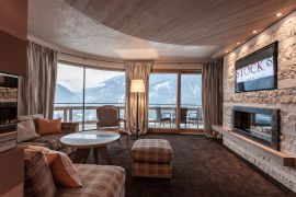 STOCK resort Alpin Lodge Suite - Ausblick
