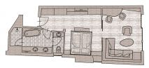 Sonnblick Deluxe suite Plan