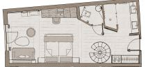 "Family studio ""Eiskristall"" Plan"
