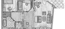 Family Residenz suite Plan