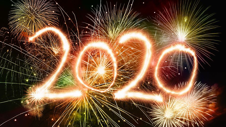 Willkommen im neuen Jahr 2020