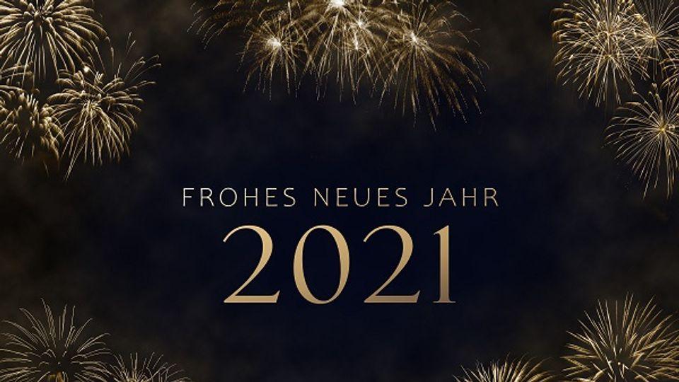 Willkommen im neuen Jahr 2021!
