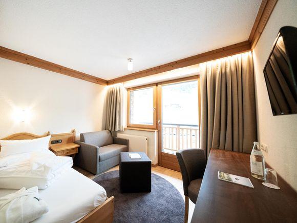 """Chambre individuel """"Arlberg"""" 1/1"""