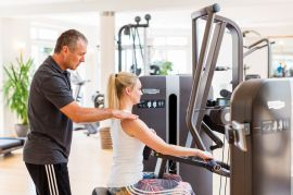 Fitnessbetreuung im Fitnessstudio