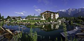 Natur Erlebnis See im Alpenresort Schwarz in Mieming, Tirol