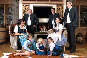 Gastgeber-Familie vom Alpenresort Schwarz