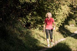 Nordic Walking am Fuschlsee - Ebner´s Waldhof am See