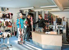Ski rental in the best wellness hotel Übergossene Alm