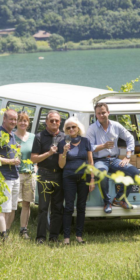 Visite de vignobles sur la route du vin du Tyrol du Sud