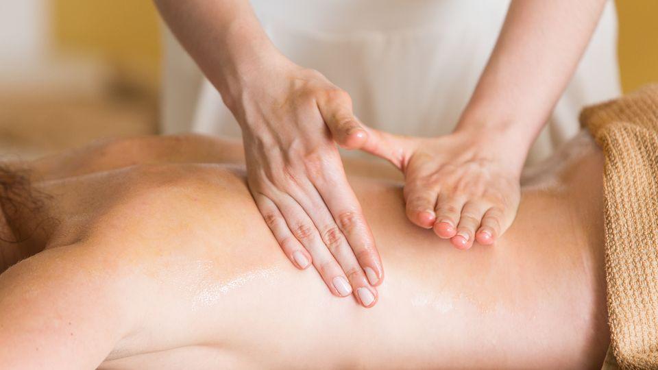 Athletes massage