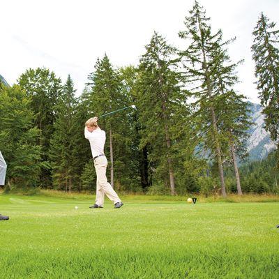 Angebot: Karwendel Golf-Short-Stay für Anfänger - Das Karwendel - Ihr Wellness Zuhause am Achensee