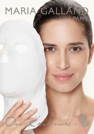 Masque modellant Maria Galland
