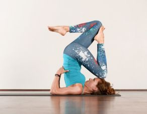 Yoga Retreat: Strong and light as a feather.