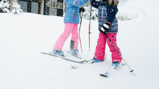 Familien Skispaß