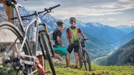 Tour in mountainbike a San Giovanni in Valle Aurina | Alpenpalace Luxury Hideaway & Spa Retreat