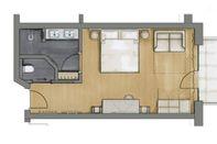 Comfort Room Monika | main house floor plan