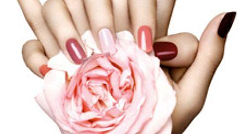 Peramenent colored nailas addition to treatment