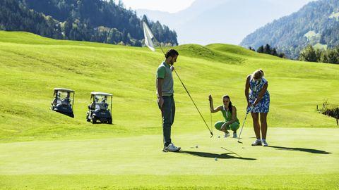 Golfabzeichen für Kinder in Silber oder in Gold