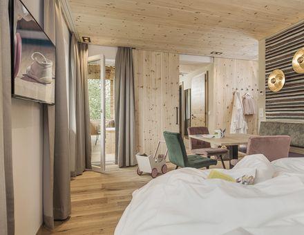 "Hotel Zimmer: ""49er"" Zirben FamilySuite - Mia Alpina"
