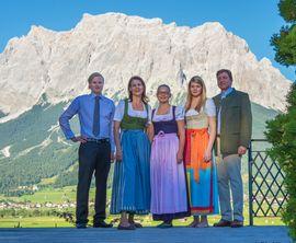 Ihre Gastgeber im Alpine Luxury Hotel Post****superior Lermoos