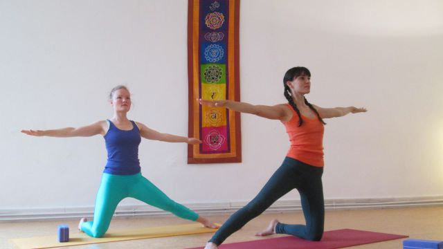 YOGA & QI-BALANCE mit Catrin Müller