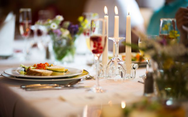 BIO HOTEL Alpenrose: Abendessen