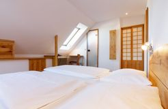 Double room (small, with sloping roof) (2/3) - Alter Wirt