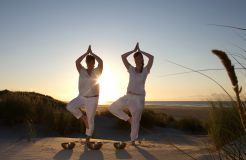 Biohotel AnNatur: Yoga in der Natur - Haus AnNatur, Juist, Niedersachsen, Deutschland