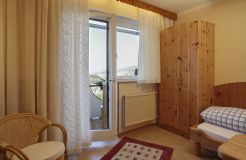 Comfort room panorama view (3/4) - Biolandhaus Arche