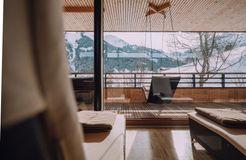 Biohotel Chesa Valisa: Entspannen im Wellnessbereich - Das Naturhotel Chesa Valisa, Hirschegg/Kleinwalsertal, Vorarlberg, Österreich