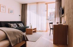 Biohotel Chesa Valisa Hirschegg Zimmer Ifen Komfort (3/7) - Das Naturhotel Chesa Valisa