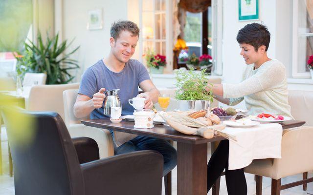Biohotel Leutascherhof: Bio-Frühstück genießen