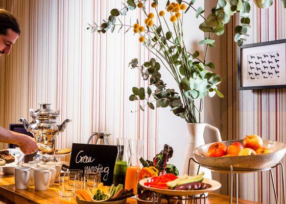 Bio-Küche - Hotel Villa Orange