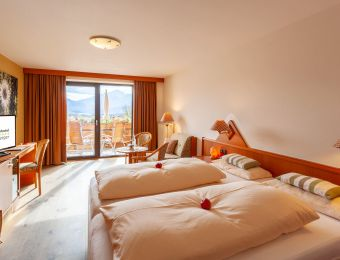 """Double Room """"South Panorama""""  COMFORT - Biohotel Eggensberger"""