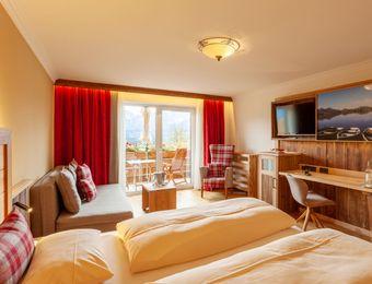 "Junior Suite ""Top of the Mountain"" SUPERIOR - Biohotel Eggensberger"