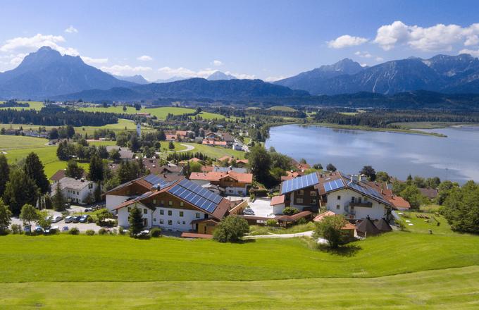 4 stars Biohotel Eggensberger - Füssen - Hopfen am See, Allgäu, Bavaria, Germany