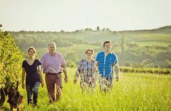 Biohotel Gänz: Gastgeber Familie Gänz - BioWeingut & Landhotel Gänz, Hackenheim, Rheinland-Pfalz, Deutschland
