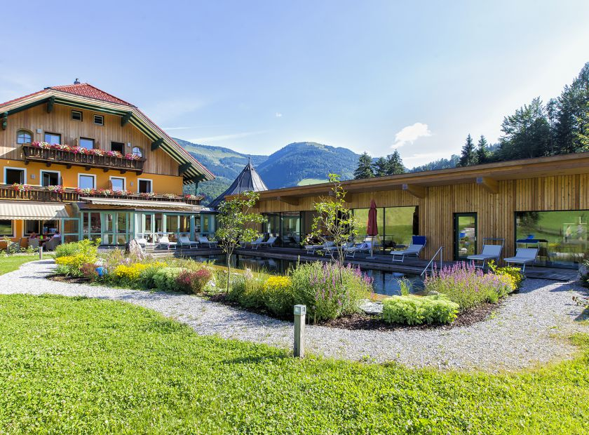 Biohotel Sommerau: Urlaub in St. Kolomann - BioVitalHotel Sommerau, St. Koloman, Salzburg, Österreich