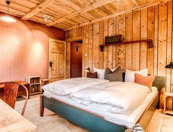 Hotel Muhle double room - Bio- & Nationalpark Refugium Schmilka