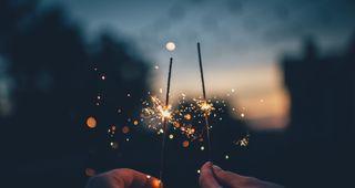Stoßen Sie mit uns an auf ein neues Jahr!