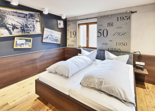 Biohotel Rose Ehestetten Zimmer Junior Suite (1/2) - Bio-Hotel und Restaurant Rose