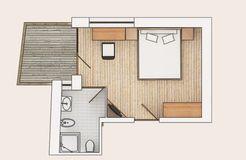 Camera doppia lato nord con balcone (2/3) - Biohotel Panorama