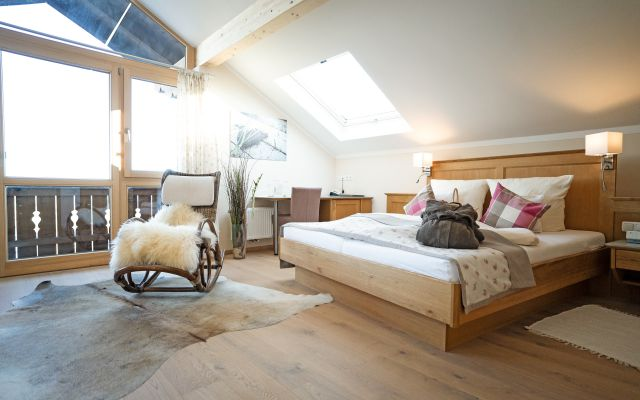 Biohotel moor&mehr: Panorama-Suite Wildrose