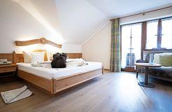 Comfort double room Elderberry South with balcony (2/2) - moor&mehr Bio-Kurhotel