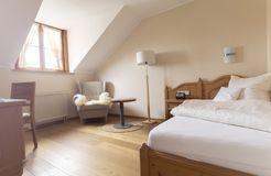 "Comfort Single Room ""Holunder"" without Balcony (2/2) - moor&mehr Bio-Kurhotel"