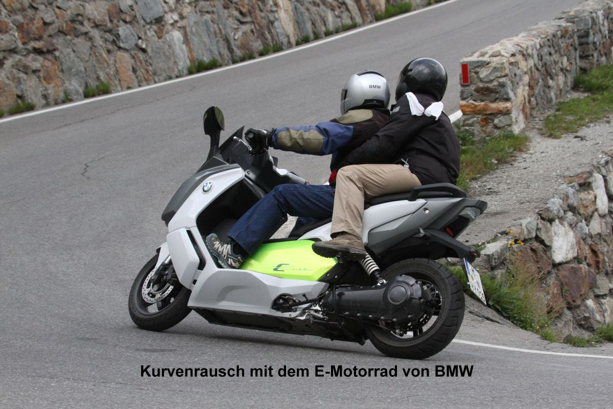 BMW C-Evolution - a new experience