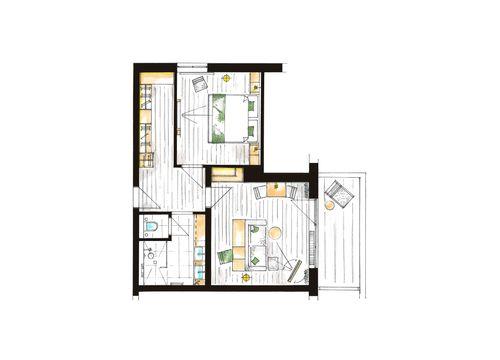 """Comfort Suite """"Falken"""" 3/3"""