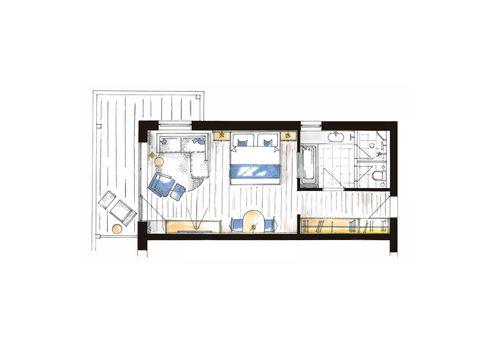 """Comfort Studio """"Paradies"""" Premium 4/4"""