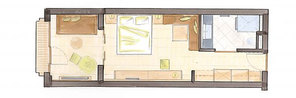 "Studio ""Blumenalm"" Typ B"