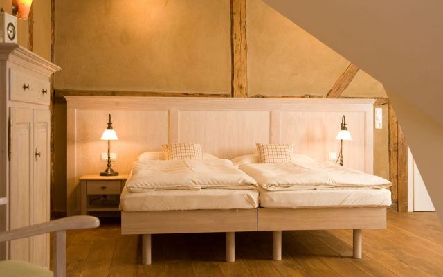 Biohotel Gutshaus Parin: Doppelzimmer Sonne